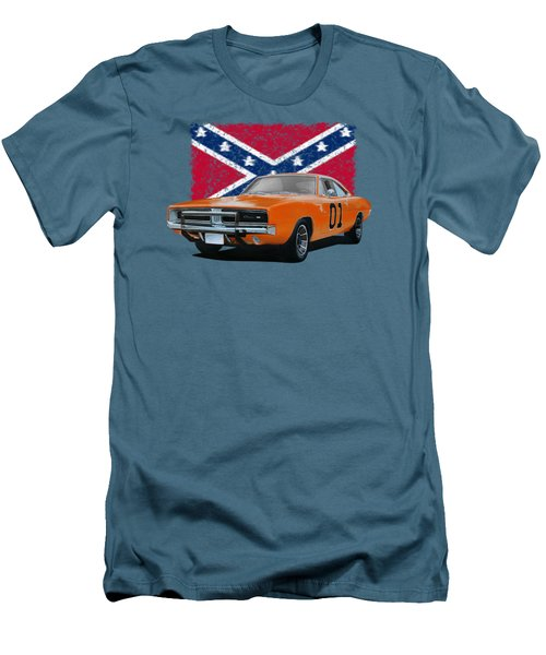 General Lee Rebel Men's T-Shirt (Athletic Fit)