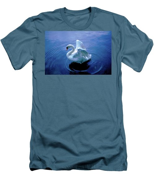 Gentle Strength Men's T-Shirt (Slim Fit) by Marie Hicks
