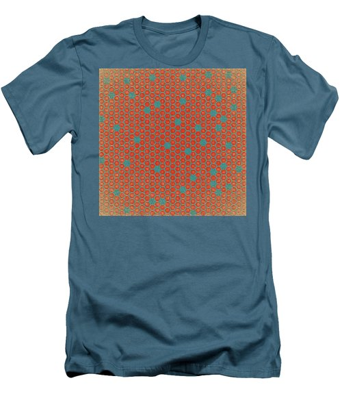 Men's T-Shirt (Slim Fit) featuring the digital art Geometric 1 by Bonnie Bruno