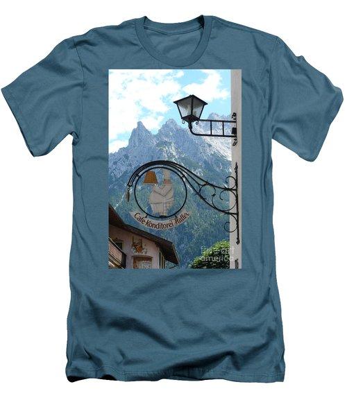 Germany - Cafe Sign Men's T-Shirt (Slim Fit)