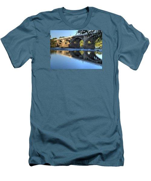 Gervais Street Bridge-1 Men's T-Shirt (Athletic Fit)