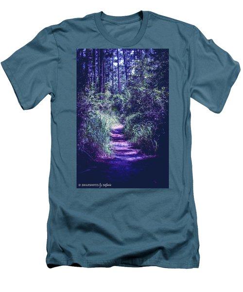 Get That Rabbit Men's T-Shirt (Slim Fit) by Stefanie Silva