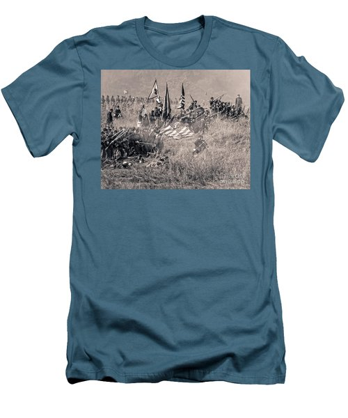 Gettysburg Union Infantry 8963s Men's T-Shirt (Athletic Fit)