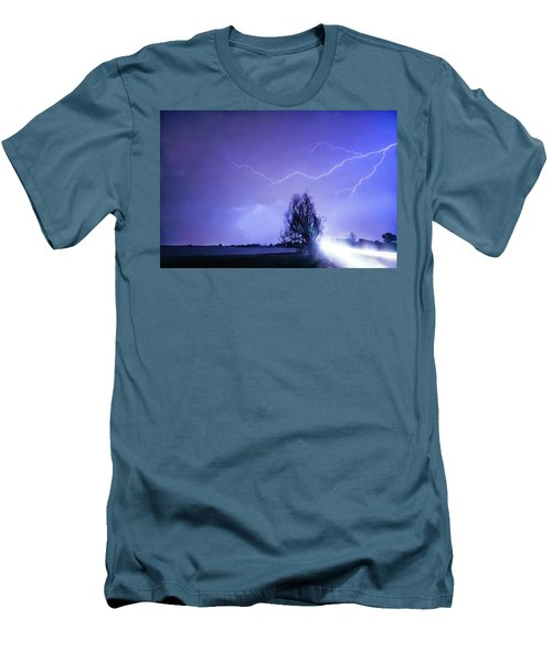 Men's T-Shirt (Slim Fit) featuring the photograph Ghost Rider by James BO Insogna