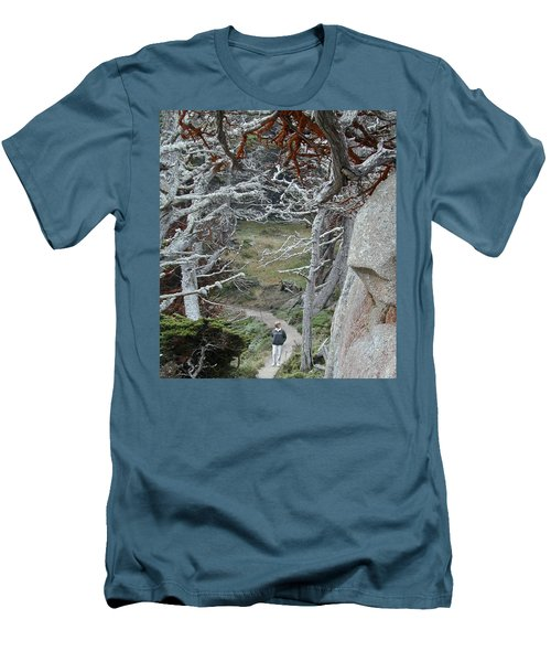 Ghost Trees Men's T-Shirt (Athletic Fit)