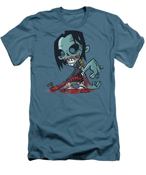 Ghoul T-shirt Men's T-Shirt (Slim Fit) by Herb Strobino
