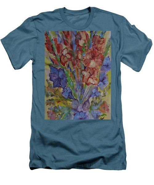 Gilded Flowers Men's T-Shirt (Athletic Fit)