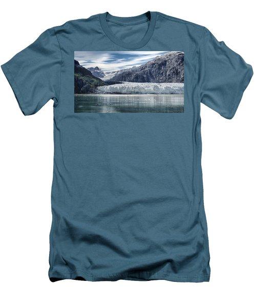 Glacier Bay Alaska Men's T-Shirt (Slim Fit) by Gary Warnimont