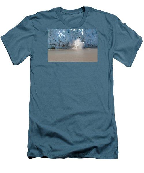 Glacier Calves Men's T-Shirt (Slim Fit) by Allan Levin