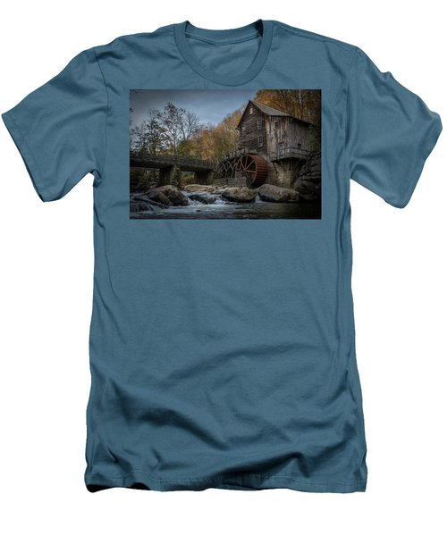 Glade Creek Water Wheel Men's T-Shirt (Athletic Fit)