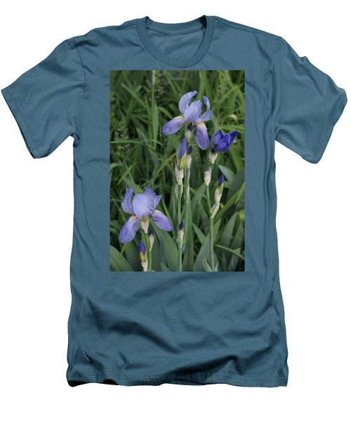 Men's T-Shirt (Slim Fit) featuring the photograph Glads by Cynthia Powell