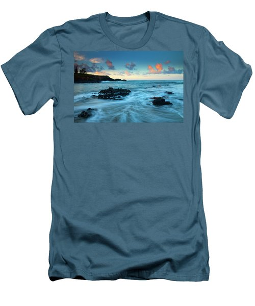 Glass Beach Dawn Men's T-Shirt (Athletic Fit)