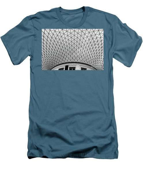 Men's T-Shirt (Slim Fit) featuring the photograph Glass Ceiling by MGL Meiklejohn Graphics Licensing