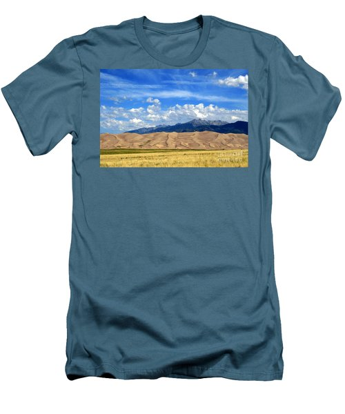 Glorious Morning 2 Men's T-Shirt (Slim Fit) by Paula Guttilla