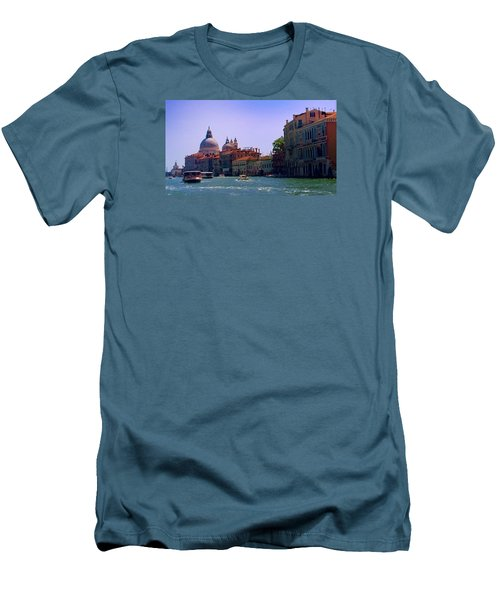 Men's T-Shirt (Athletic Fit) featuring the photograph Glorious Venice by Anne Kotan