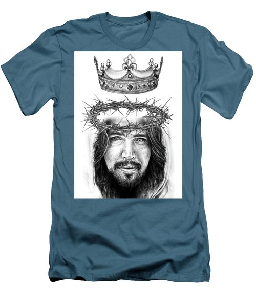 Glory To The King Men's T-Shirt (Athletic Fit)