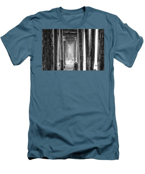 Men's T-Shirt (Athletic Fit) featuring the photograph Go Deep by Lora Lee Chapman