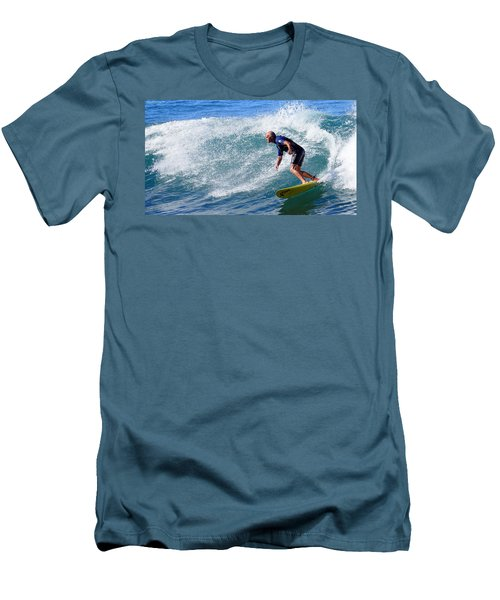 Men's T-Shirt (Slim Fit) featuring the photograph Go For It 001 by Kevin Chippindall