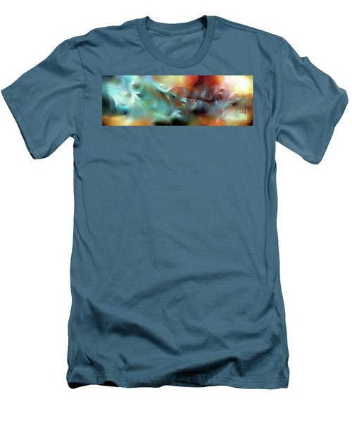 God Is Awesome And Glorious. Isaiah 57 15 Men's T-Shirt (Slim Fit) by Mark Lawrence