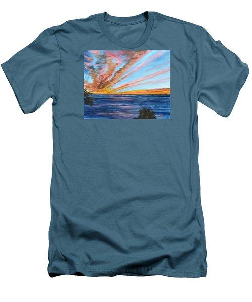 God's Magic On The Key Men's T-Shirt (Athletic Fit)