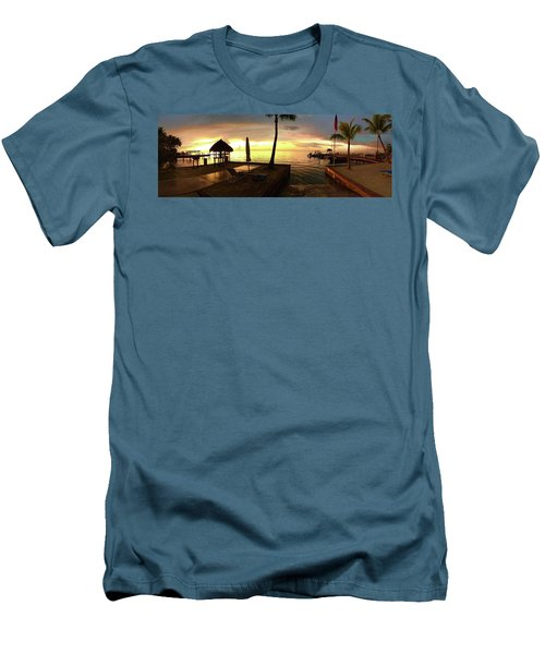 Golden Dream Men's T-Shirt (Slim Fit) by Steven Lebron Langston