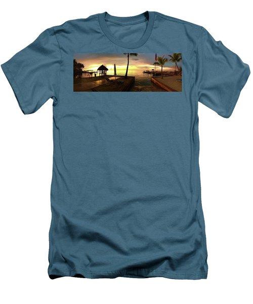 Men's T-Shirt (Slim Fit) featuring the photograph Golden Dream by Steven Lebron Langston