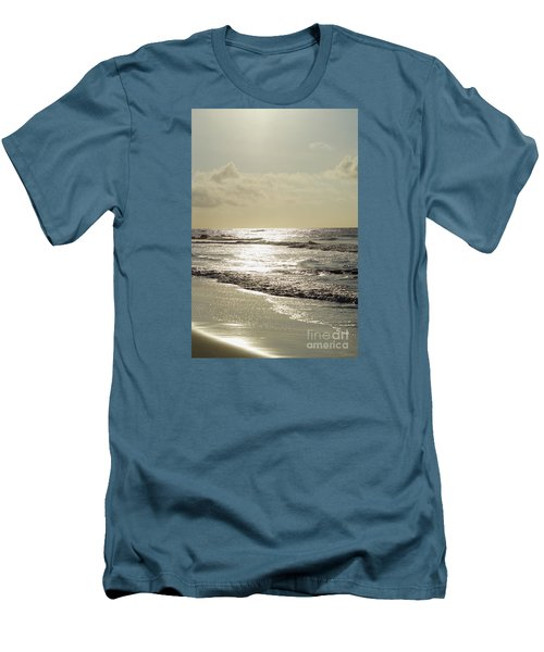 Golden Morning At Folly Men's T-Shirt (Athletic Fit)