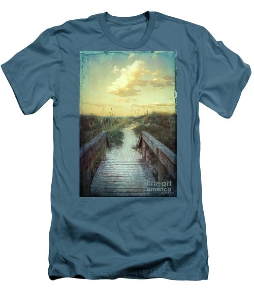 Golden Pathway Men's T-Shirt (Athletic Fit)