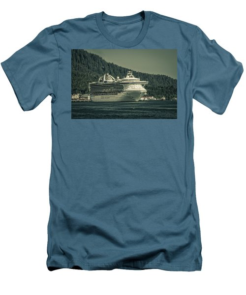 Men's T-Shirt (Slim Fit) featuring the photograph Golden Princess  by Timothy Latta