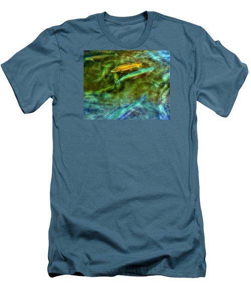 Golden Trout Men's T-Shirt (Athletic Fit)