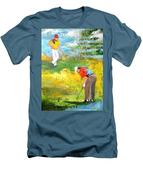 Golf Buddies #2 Men's T-Shirt (Athletic Fit)