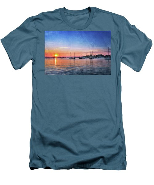 Men's T-Shirt (Slim Fit) featuring the photograph Good Morning by Edward Kreis