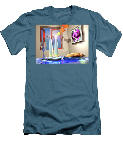 Good Shabbos Men's T-Shirt (Athletic Fit)