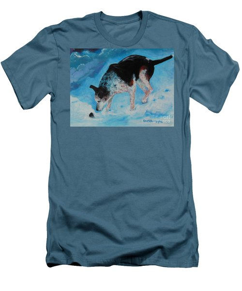 Goofie Men's T-Shirt (Slim Fit) by Dan Whittemore