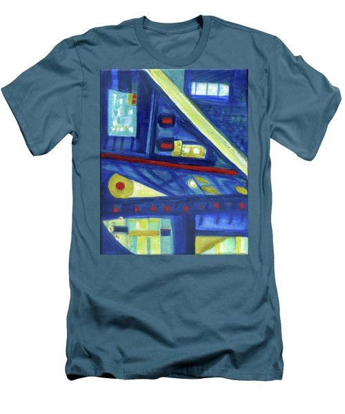 Gorias In The East Men's T-Shirt (Slim Fit) by Stephen Lucas