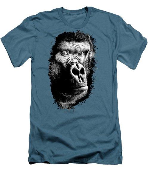 Gorilla Men's T-Shirt (Athletic Fit)