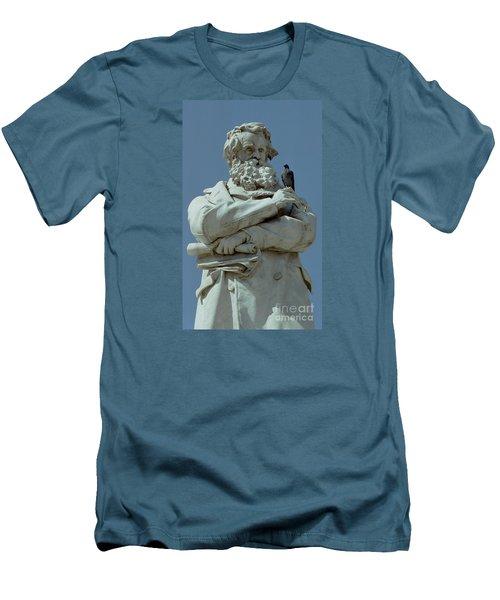 Gossip Men's T-Shirt (Slim Fit) by Michael Swanson