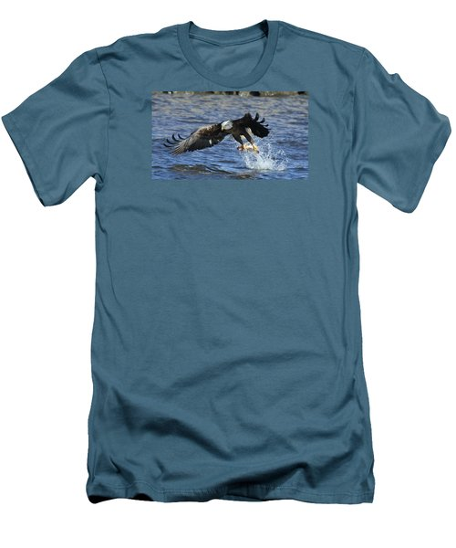 Men's T-Shirt (Slim Fit) featuring the photograph Grabbing Some Dinner by Coby Cooper