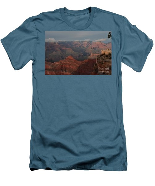 Men's T-Shirt (Slim Fit) featuring the photograph Grand Canyon 1 by Debby Pueschel
