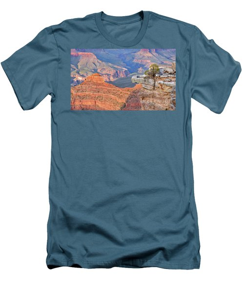 Grand Canyon 2 Men's T-Shirt (Slim Fit) by Debby Pueschel