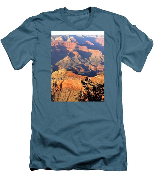 Grand Canyon 50 Men's T-Shirt (Slim Fit) by Will Borden