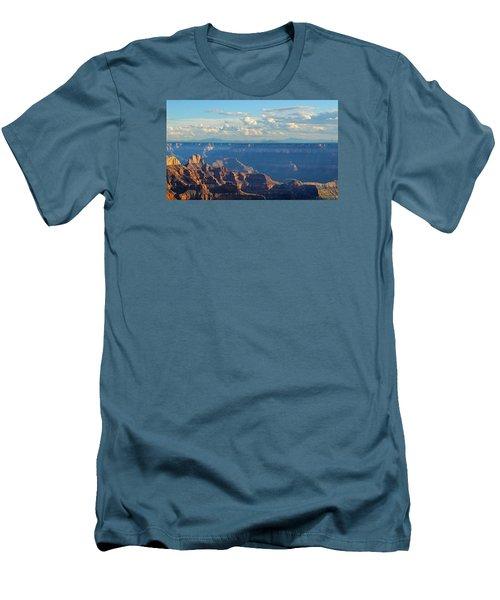 Grand Canyon North Rim Sunset San Francisco Peaks Men's T-Shirt (Athletic Fit)