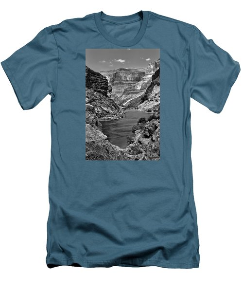 Grand Canyon Vista Men's T-Shirt (Slim Fit) by Alan Toepfer
