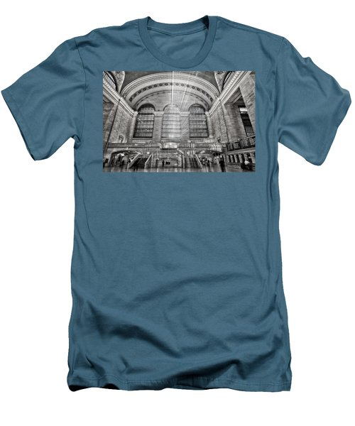 Grand Central Terminal Station Men's T-Shirt (Athletic Fit)