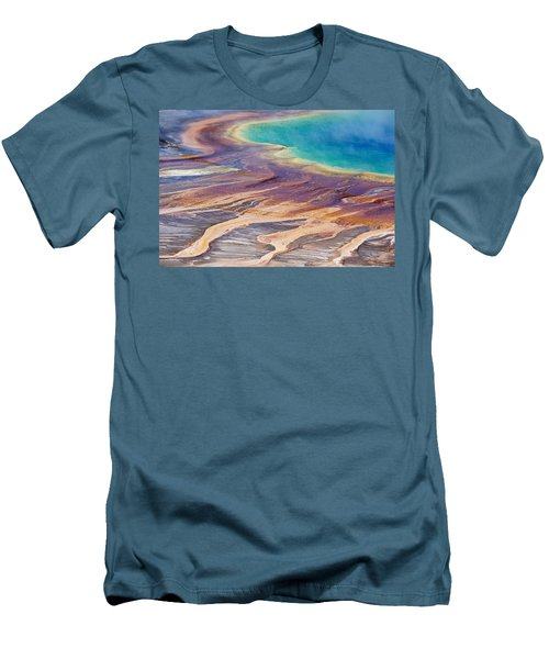 Grand Prismatic Spring 2 Men's T-Shirt (Athletic Fit)