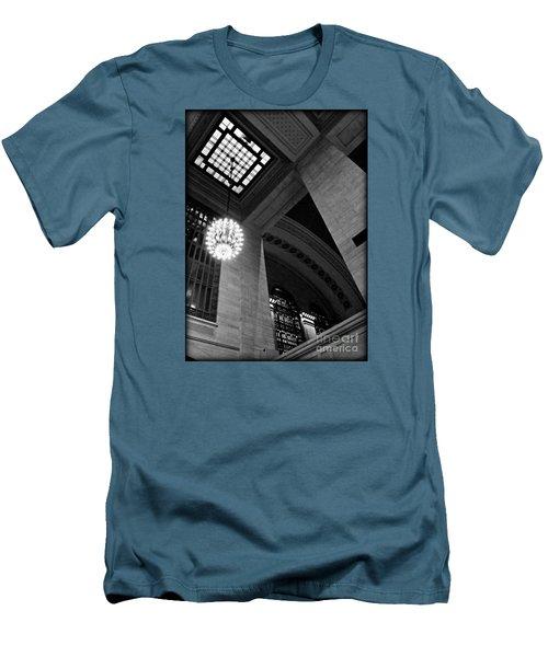 Grandeur At Grand Central Men's T-Shirt (Slim Fit) by James Aiken