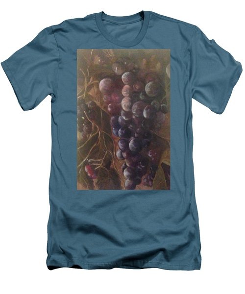 Grapes On A Vine Ca. Men's T-Shirt (Athletic Fit)