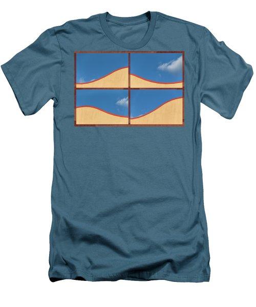 Great Curves -  Men's T-Shirt (Athletic Fit)