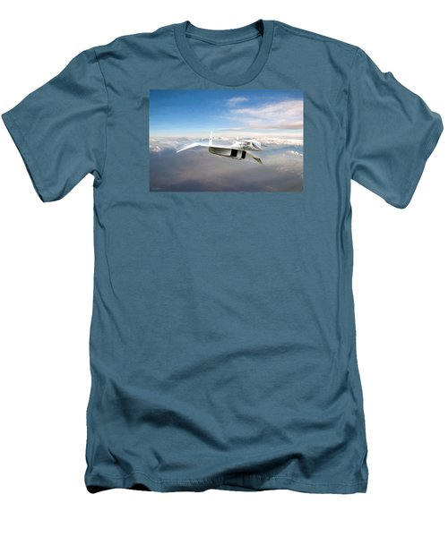 Great White Hope Xb-70 Men's T-Shirt (Slim Fit) by Peter Chilelli