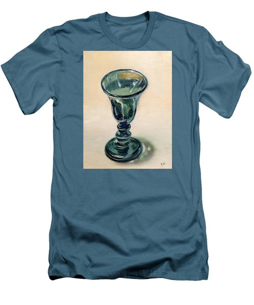 Green Glass Goblet Men's T-Shirt (Athletic Fit)